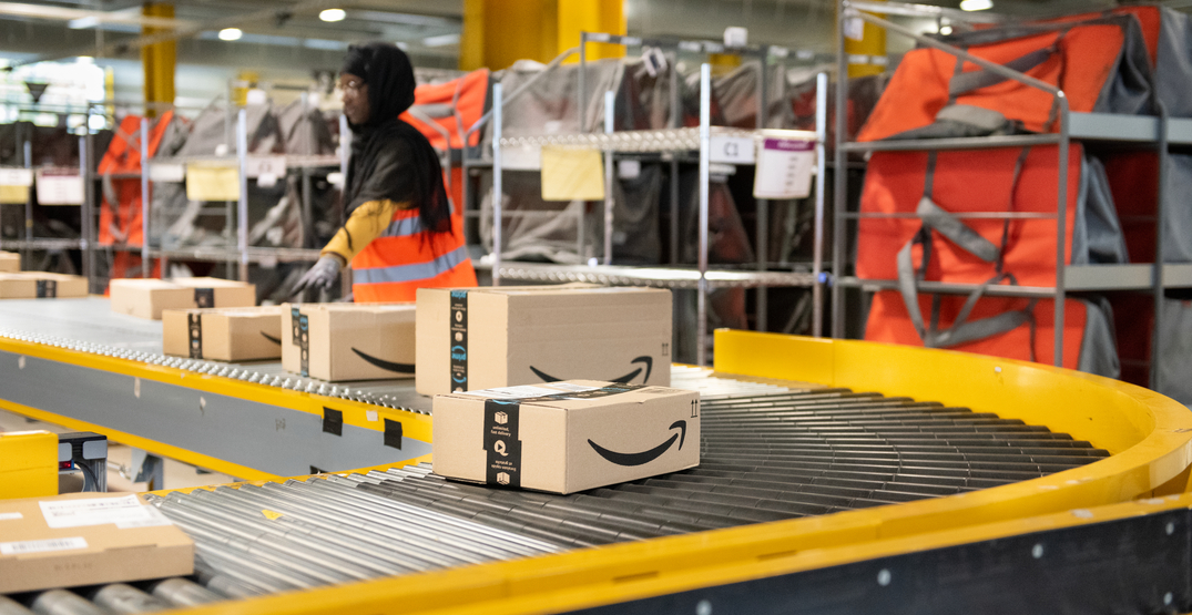 Amazon hiring for over 200 positions just outside of Calgary