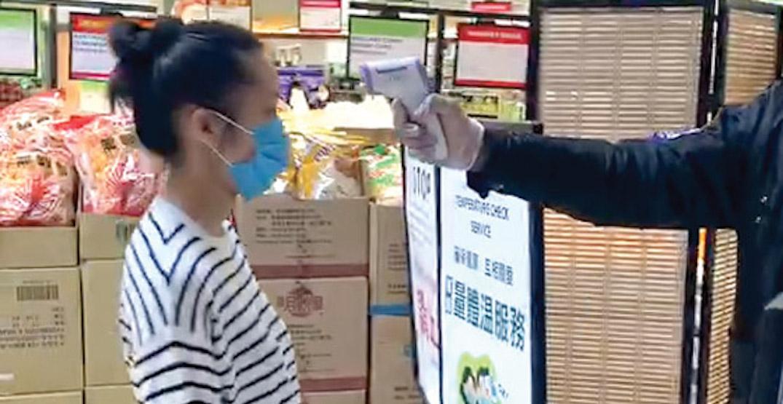 tnt supermarket temperature check coronavirus