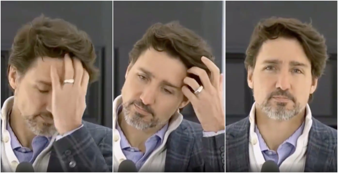 Twitter had a field day with Justin Trudeau's weekend hair flip