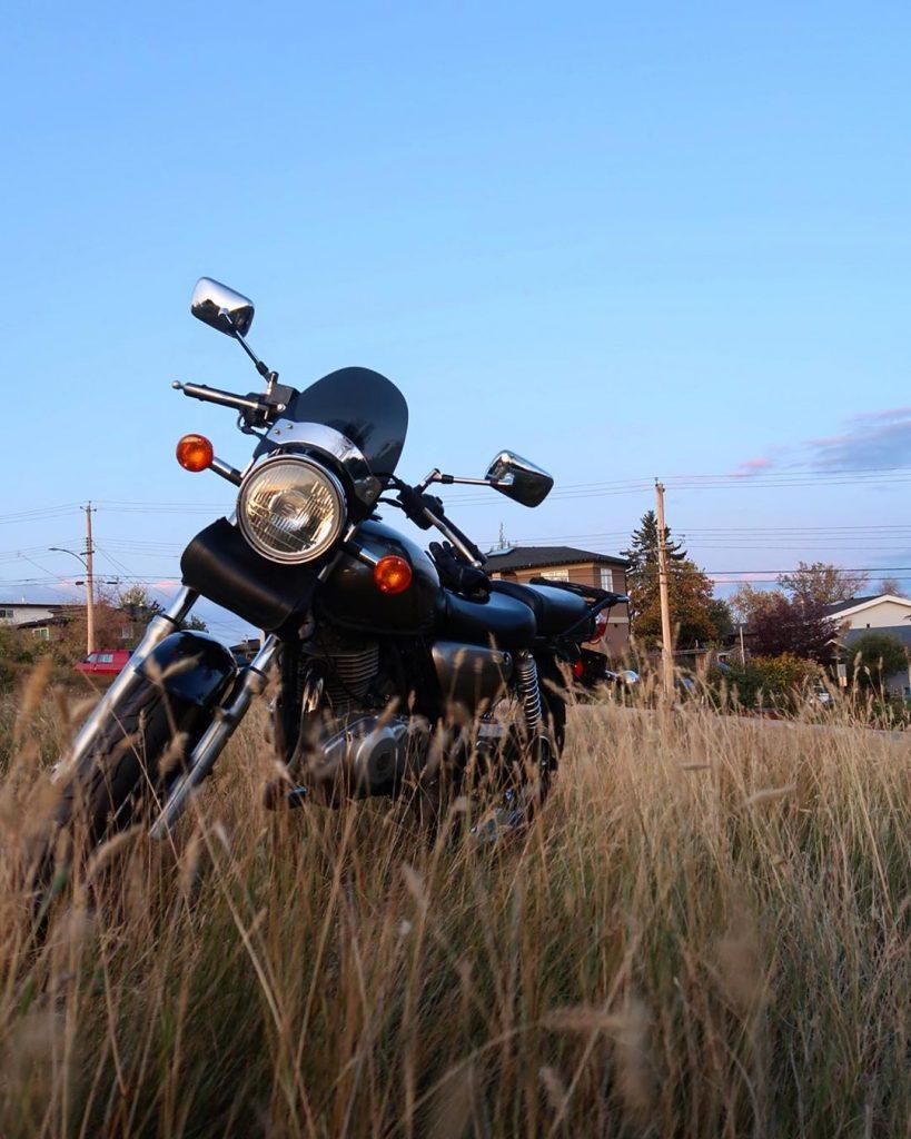 motorcycle prairies