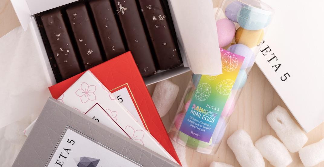 BETA5 Chocolates has released an emergency stash box of treats