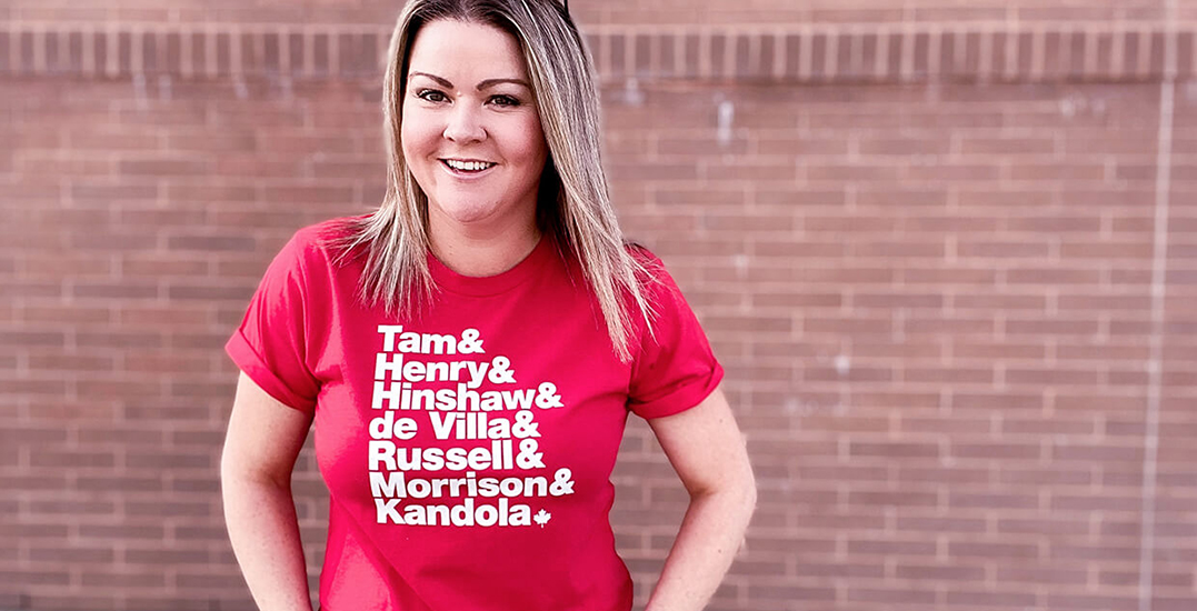 Canadian company creates T-shirt honouring the country's top female doctors