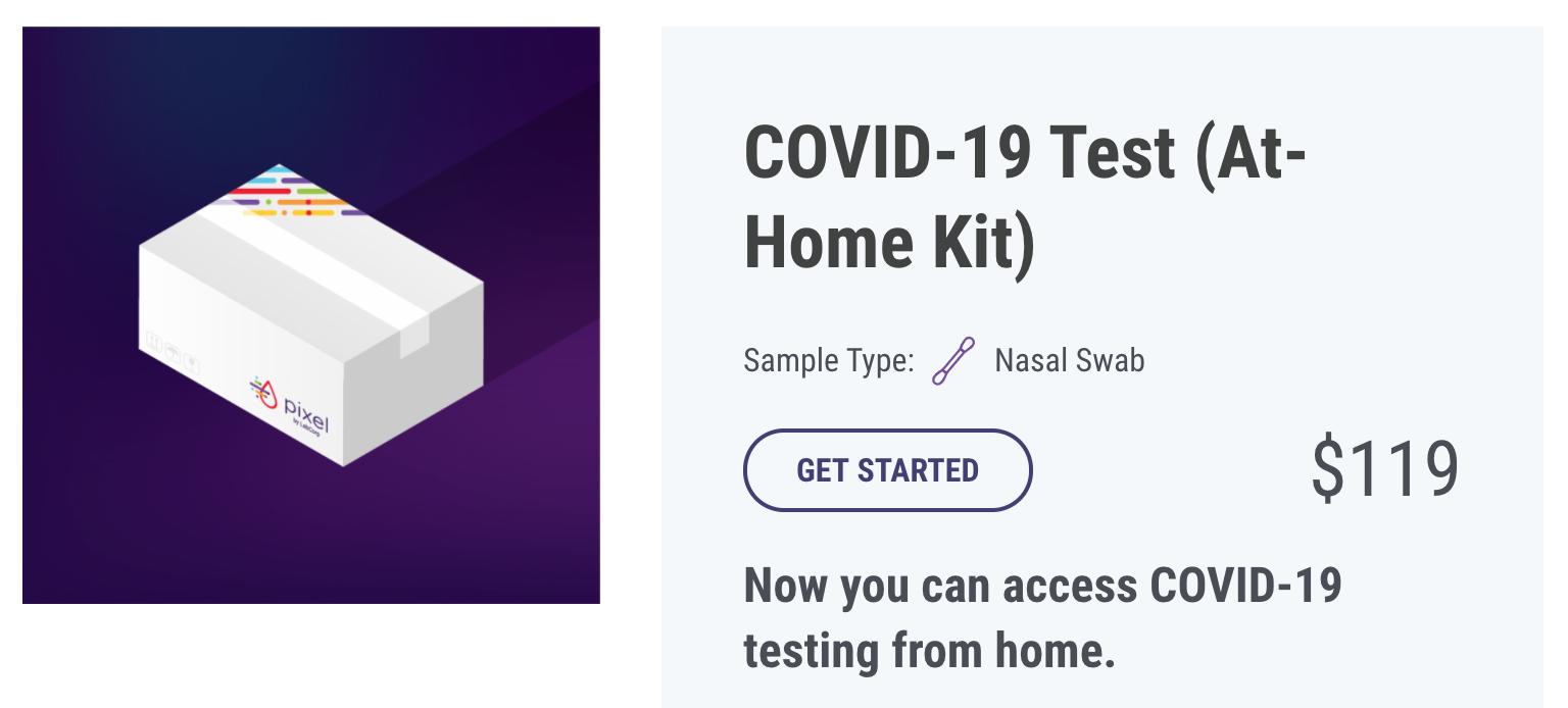 at home coronavirus test