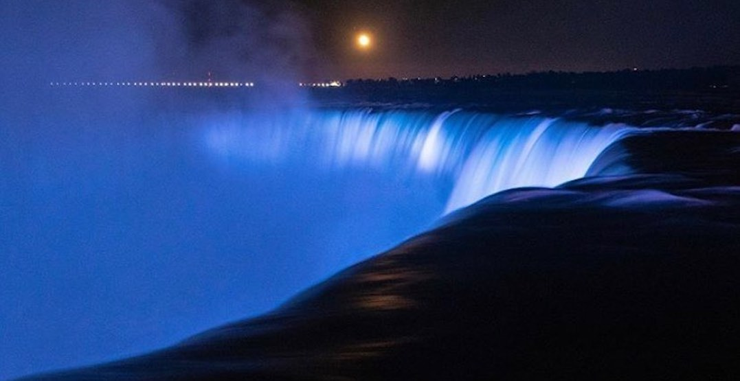 Niagara Falls to glow white and blue to honour Nova Scotia shooting victims