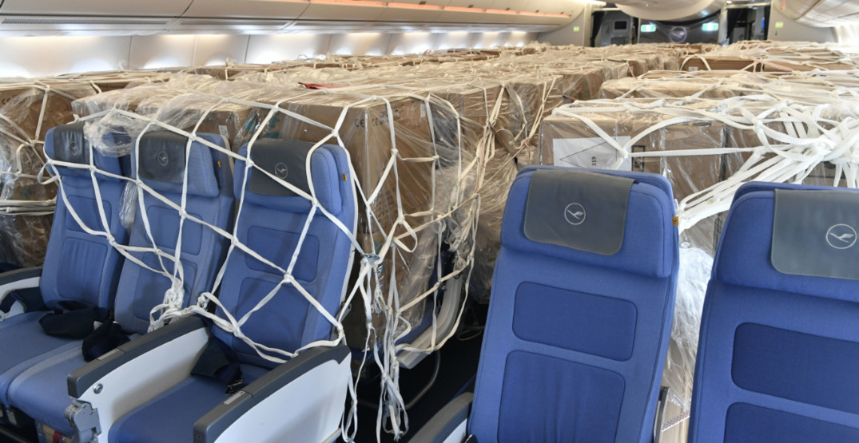 Lufthansa aircraft
