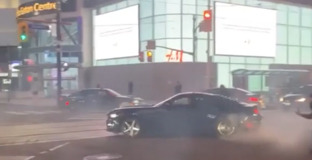 21-year-old charged after allegedly doing donuts at Yonge and Dundas