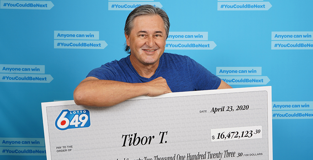 BC $16 million Lotto 6/49 winner found out he won while sitting on the toilet