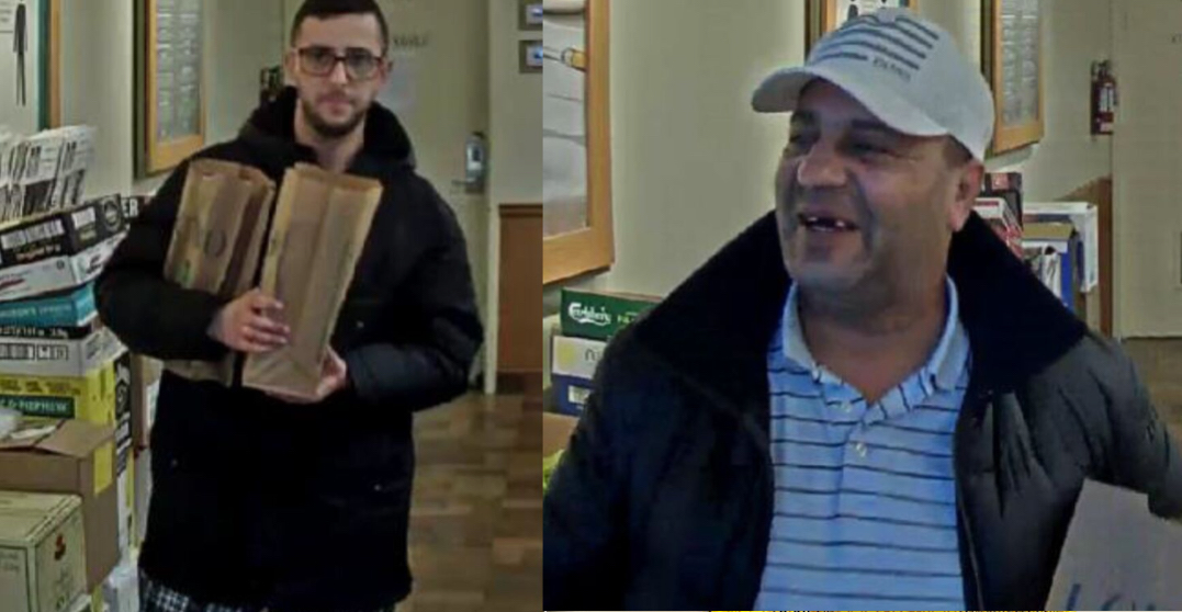 """Men wanted for alleged fraud involving pick-pocketing """"older people"""""""