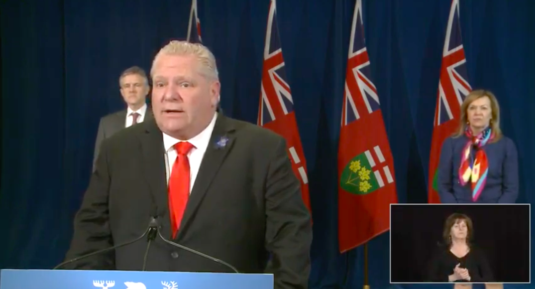 Ontario partners with federal government to give $900M in rent relief for small businesses