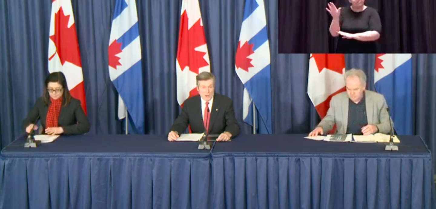 Toronto launches new committee to recover and rebuild the economy