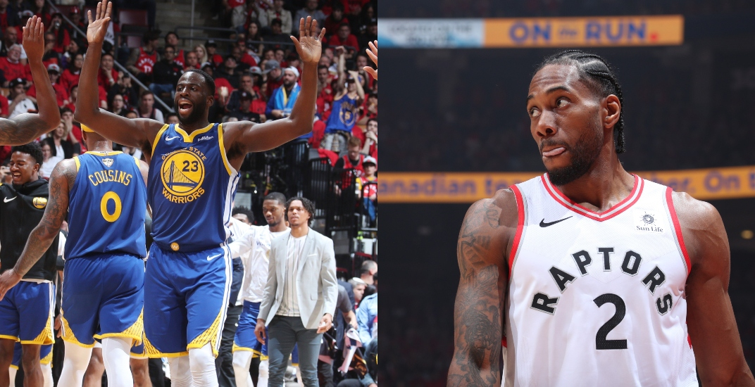Draymond Green says Raptors wouldn't have won championship if Durant was healthy