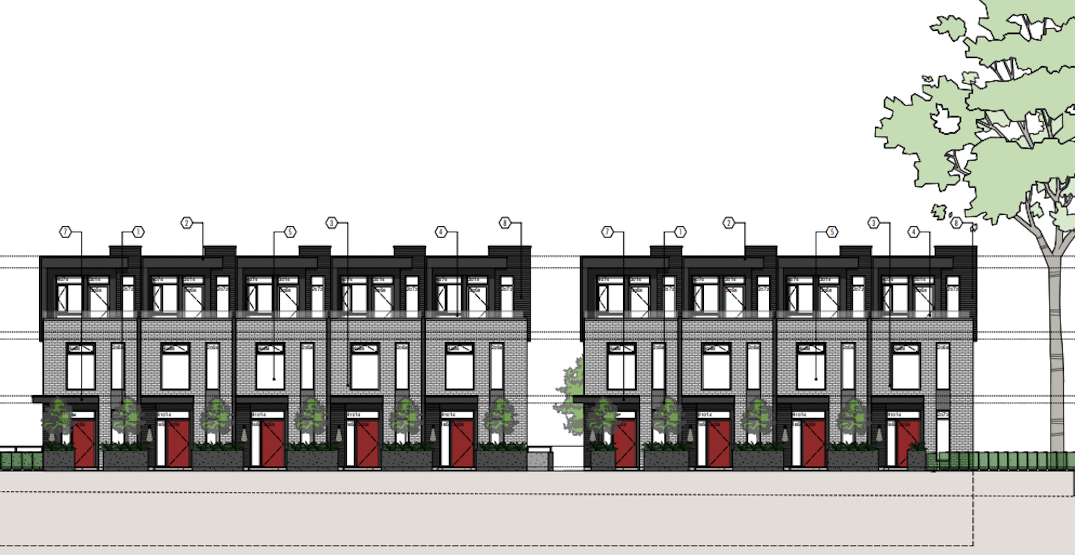 23 townhomes proposed for corner of Oak Street and 52nd Avenue