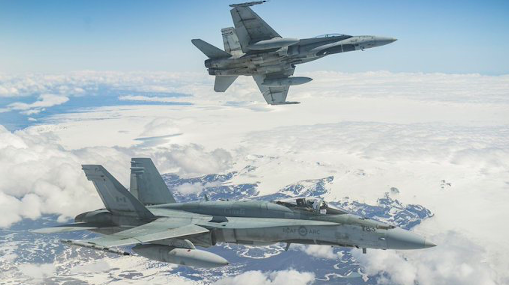 NORAD conducting fighter jet training exercises over Toronto this morning