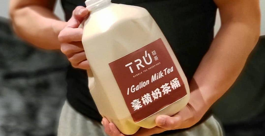 You can now order a giant jug of milk tea in Toronto