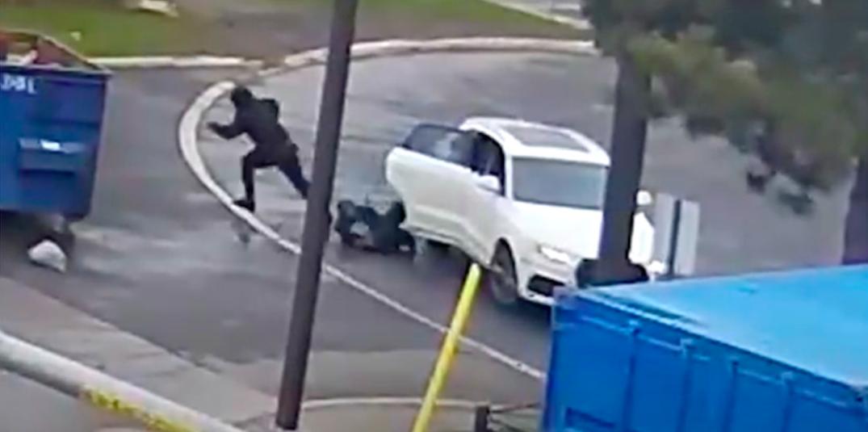 Video shows murdered Toronto teen fleeing from alleged suspect vehicle