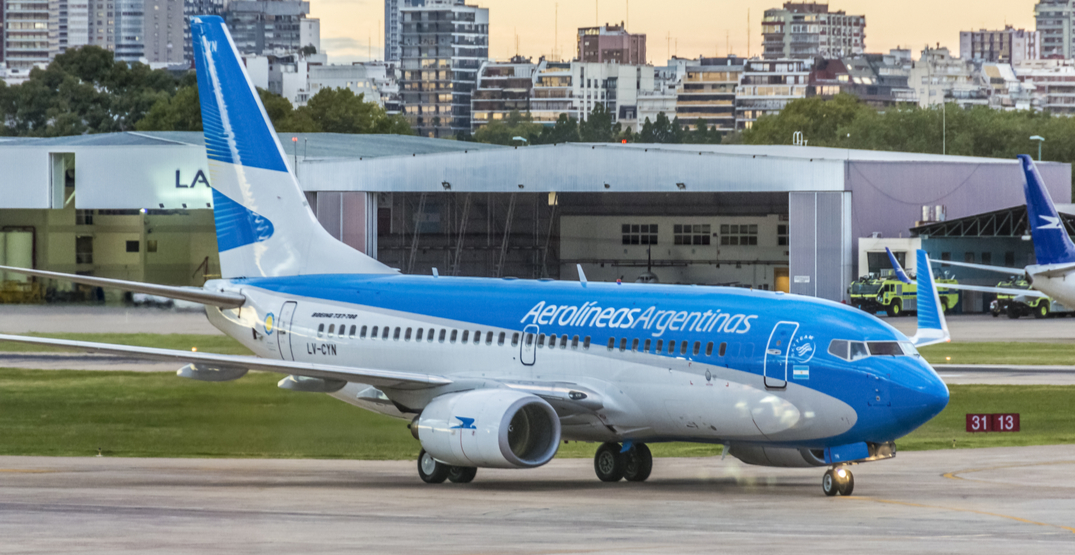 All commercial flights in Argentina are banned until September