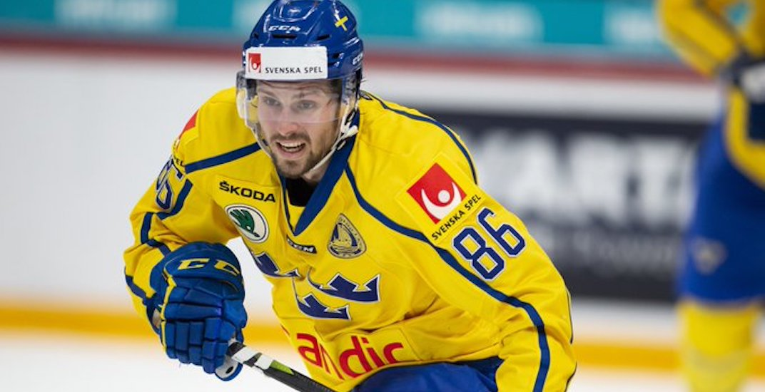 Canucks are a finalist to sign talented Swedish free agent forward: report