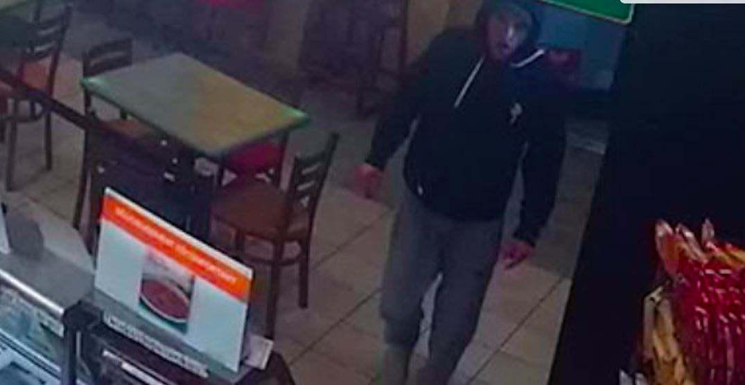 Suspect allegedly robbed same Subway in Metro Vancouver twice: police