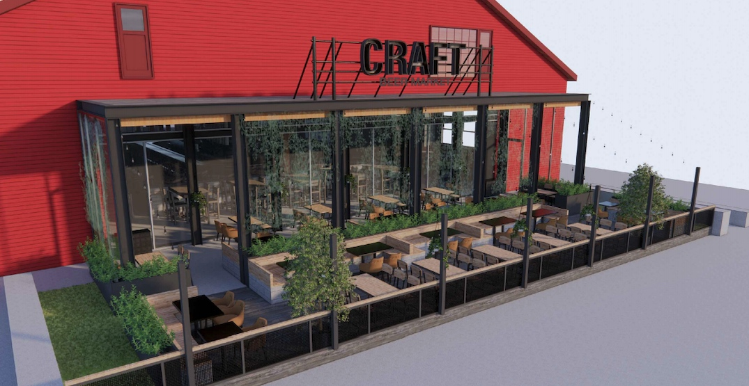 CRAFT Beer Market at Olympic Village proposes building a new patio
