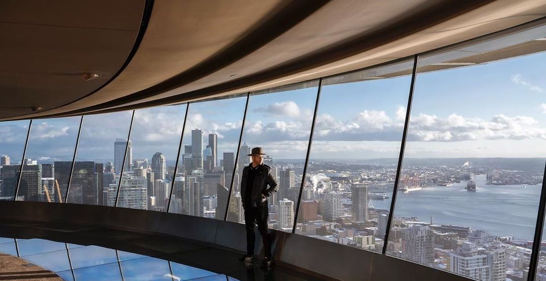Visit the top of the Space Needle with this virtual panocam