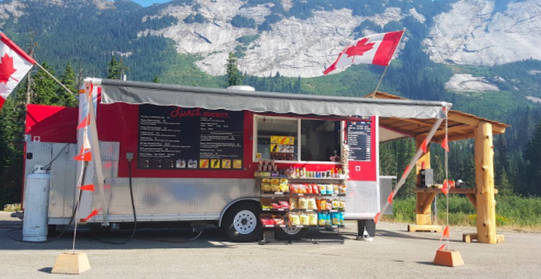 Food trucks are now being set up at multiple commercial truck stops in BC