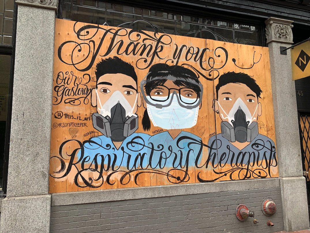 gastown storefront mural