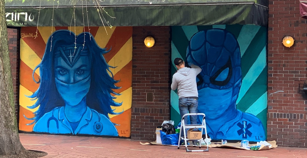 17 photos of storefront murals in and around Gastown (PHOTOS)