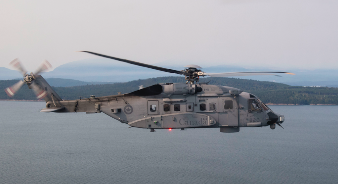 Search underway for Canadian military helicopter that went missing during NATO operations