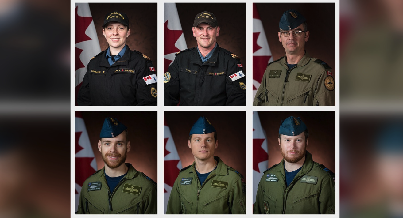 Missing Canadian Forces members in fatal helicopter crash identified