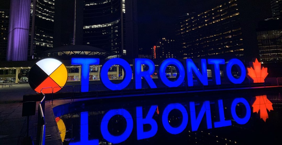 Toronto sign to glow blue for First Responders and Doctors Day