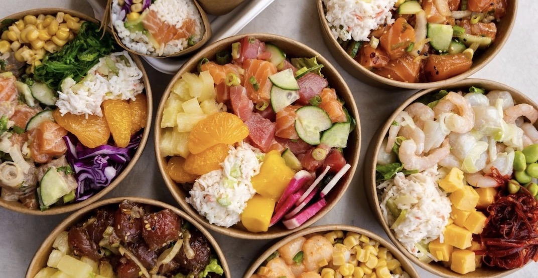 Poké Time is offering half-priced bowls in Vancouver this week
