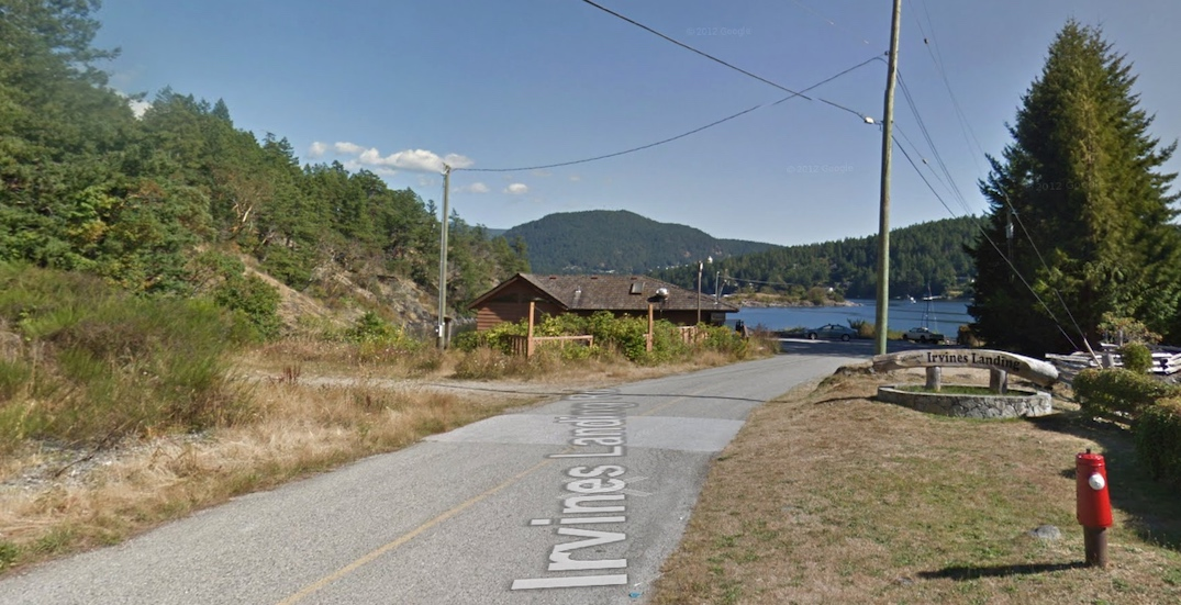 pender harbour ocean discovery station site