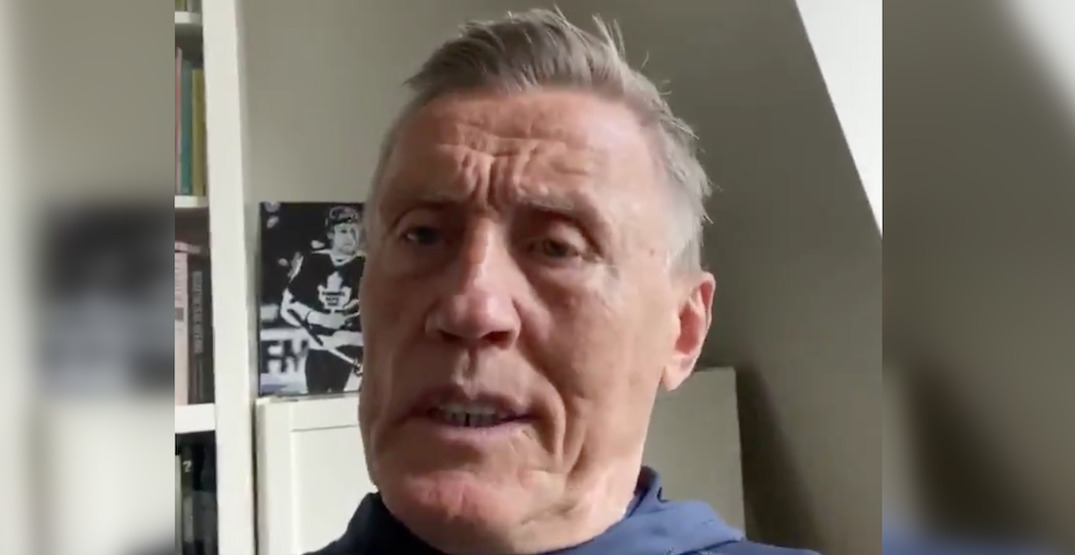 Leafs legend Borje Salming describes his experience with coronavirus (VIDEO)