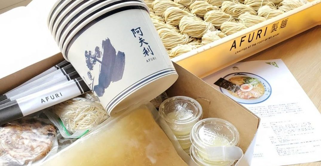 """What to eat in Portland today: """"Afuri at Home"""" DIY kits"""