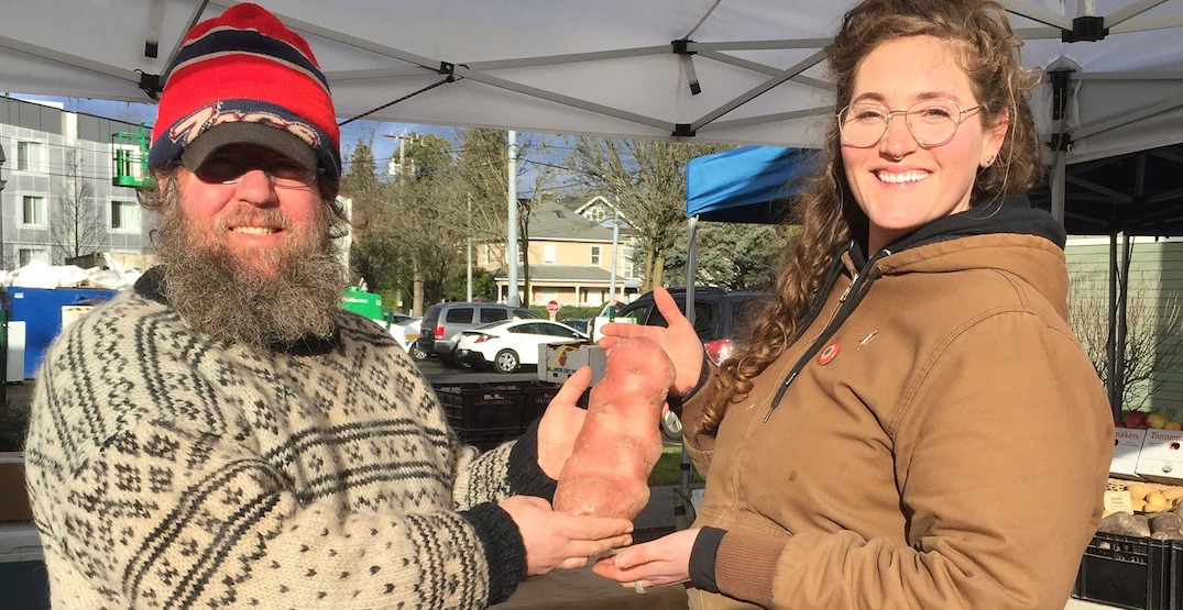 The West Seattle Farmers Market reopens May 3