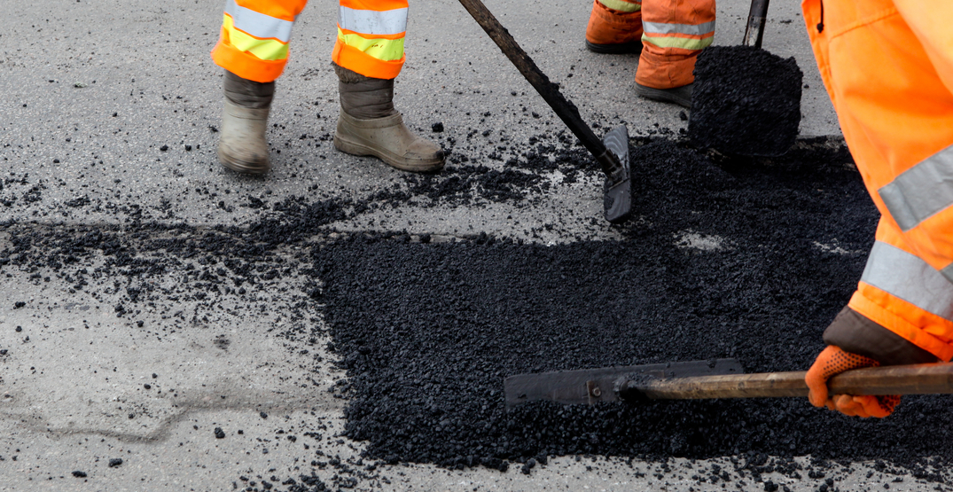 The City of Toronto is taking advantage of light pandemic traffic to tackle potholes
