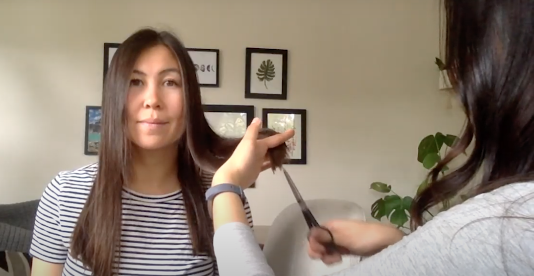 Here's how to give your roommate an at-home haircut (VIDEO)