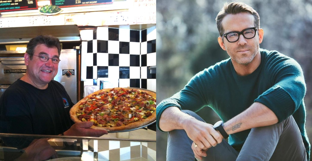Ryan Reynolds is buying 385 pizzas for Kits grads from Nat's Pizzeria