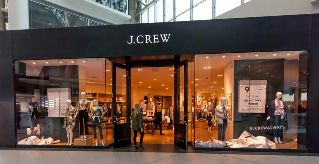 J Crew files for bankruptcy protection