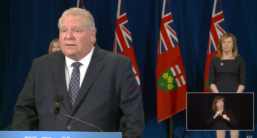 "Ontario ""moving in the right direction"" as province increases daily lab testing: Ford"