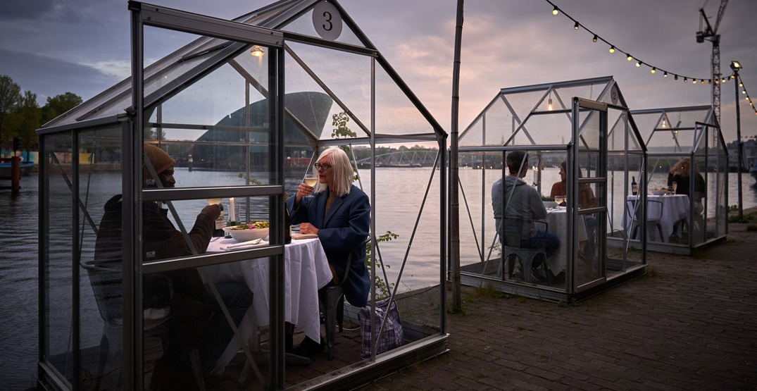Enjoy a contamination-free dinner at this venue in Amsterdam (PHOTOS)