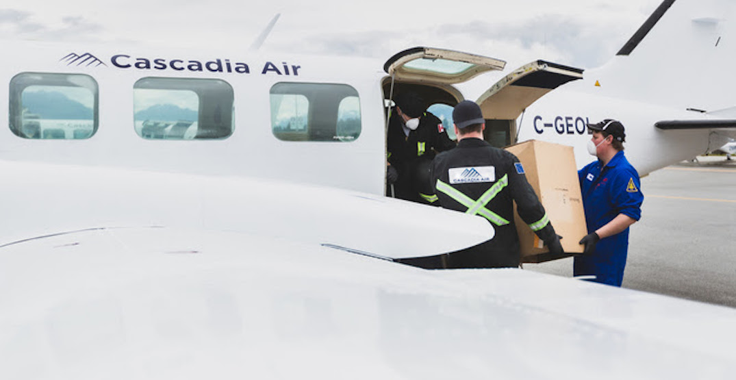 New BC commuter airline providing emergency air delivery to remote communities