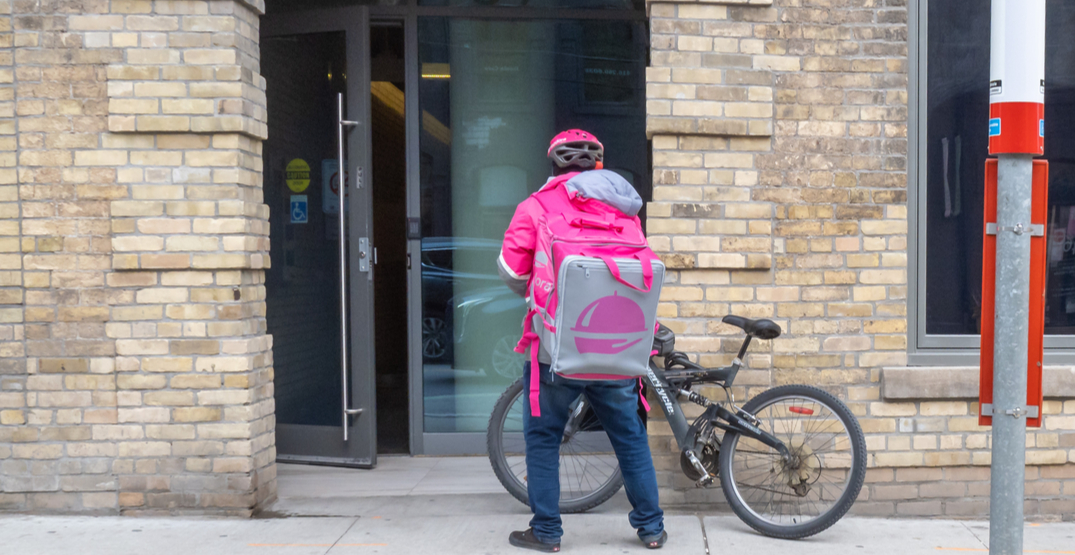 Toronto charity to provide meals for Foodora couriers