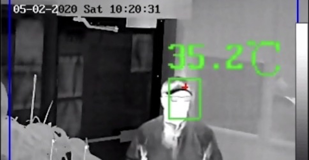 Vancouver's Value On Liquor Store installs thermal camera