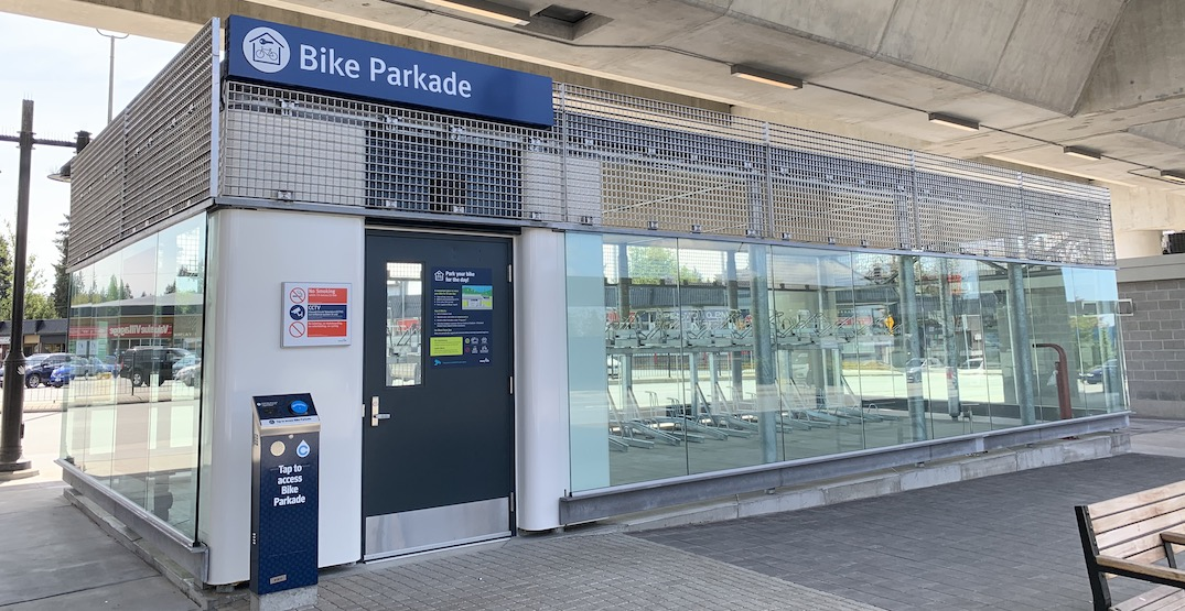 TransLink opens three new bike parkades at SkyTrain stations (PHOTOS)