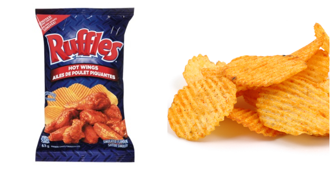 Ruffles Hot Wings chips recalled due to undeclared labelling
