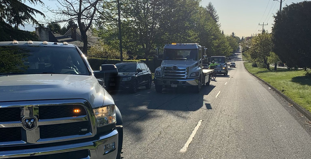 VPD catch three cars in five minutes for excessive speeding