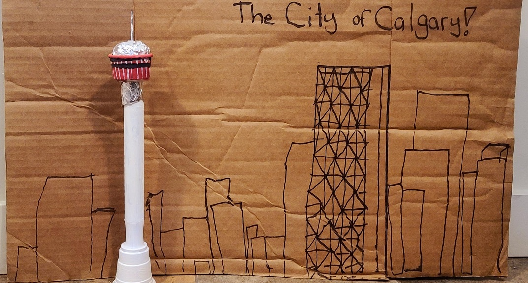 The Calgary Tower has launched a tower-building contest on Instagram