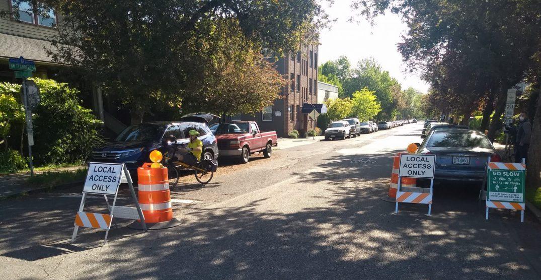 Portland's Bureau of Transportation limiting some traffic for pedestrian use