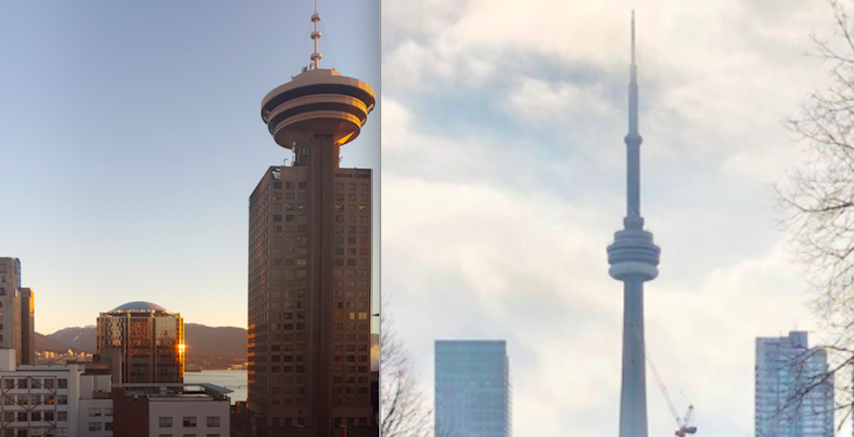 Vancouver experiencing summer conditions while Toronto in polar vortex